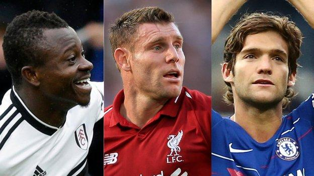 Jean Michael Seri, James Milner, Marcos Alonso