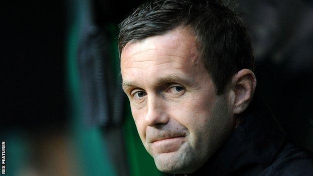 Former Celtic manager Ronny Deila