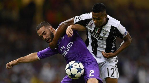 Alex Sandro had Juventus' only shot in the second half