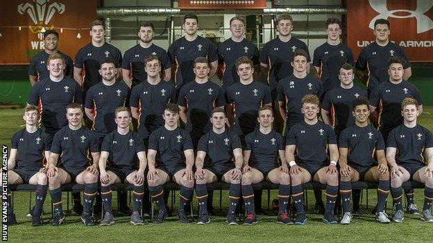 Wales Under-18 rugby squad