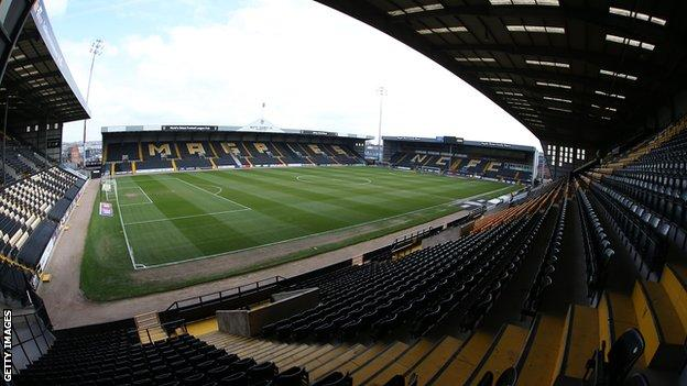 Notts County dropped out of the English Football League for the first time in their history after finishing 23rd in League Two last season
