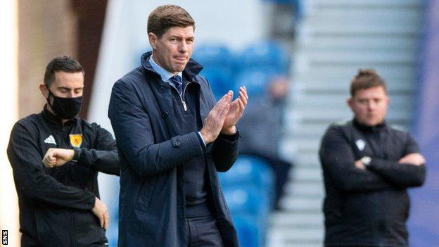 Rangers cruise past depleted Celtic to move clear at top class=
