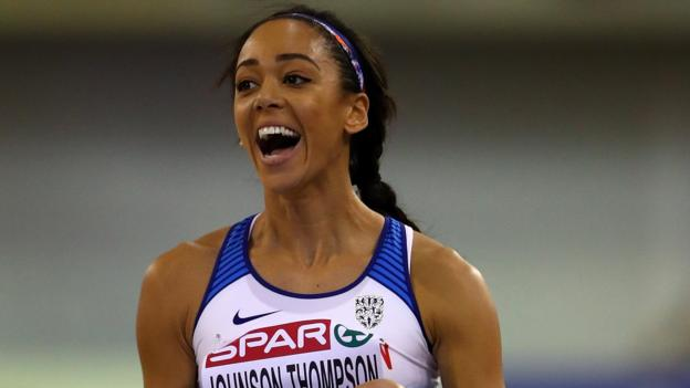 European Indoor Championships: Katarina Johnson-Thompson wins pentathlon gold thumbnail