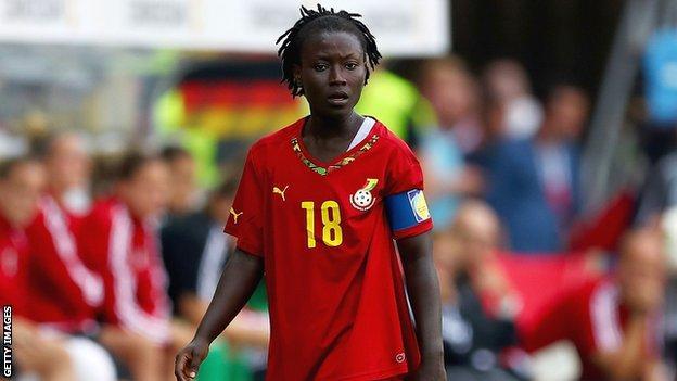 Elizabeth Addo's goal was not enough for Ghana