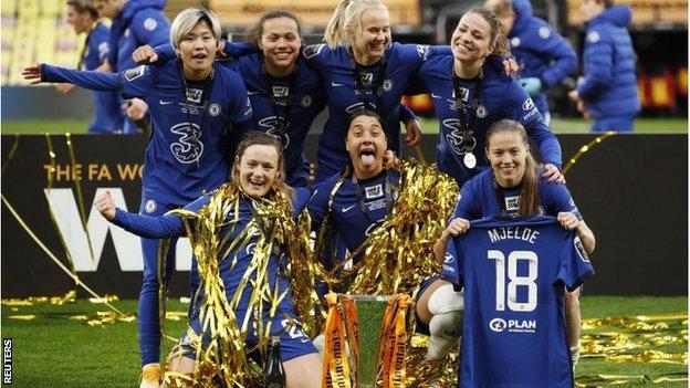 Chelsea celebrated