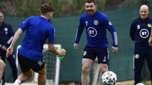 John Fleck is out of Wednesday's Scotland friendly against Netherlands as he self-isolates
