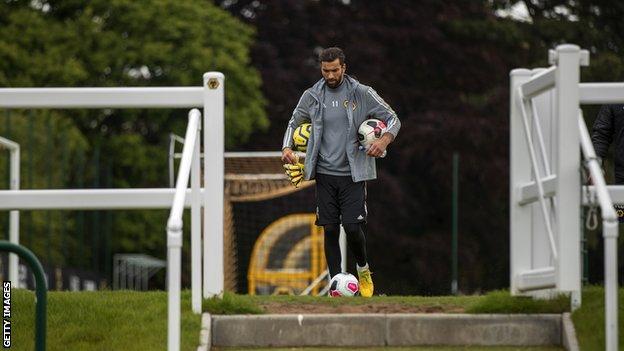 Wolves keeper Rui Patricio