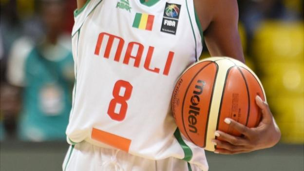 Malian basketball players