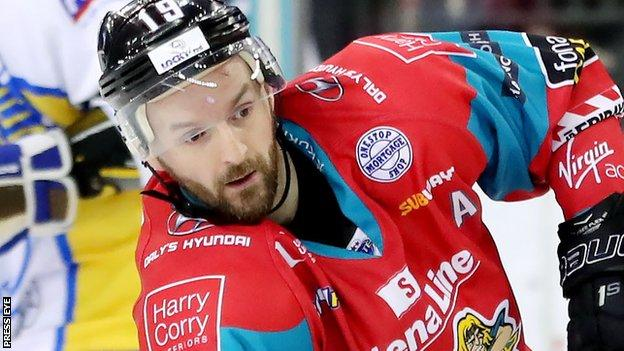 Colin Shields scored two goals and had an assist in Belfast Giants win over Dundee Stars