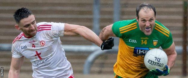 Tyrone and Donegal will compete in Division One North as part of the regionalised league structure