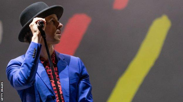 Maximo Park frontman Paul Smith