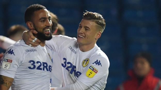 Leeds United 2-0 Derby County: Marcelo Bielsa's side beat Frank Lampard's Rams thumbnail