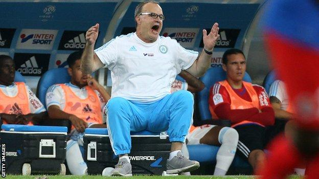 Bielsa in charge of Marseille