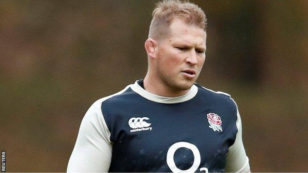 Dylan Hartley started the final two of England's autumn internationals on the bench
