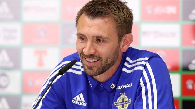 Northern Ireland haven't conceded a goal in the last three games with West Brom team-mates Gareth McAuley and Jonny Evans at the heart of the defence