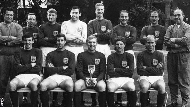 England's 1966 World Cup winning side