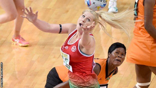 Chelsea Lewis scored 232 times for Wales during the 2015 Netball World Cup