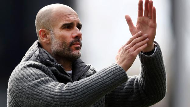 Pep Guardiola: Man City boss thanks Liverpool for help in setting new standard thumbnail