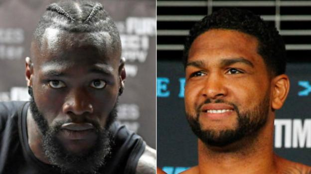 Deontay Wilder: World champion to defend title against Dominic Breazeale in May thumbnail