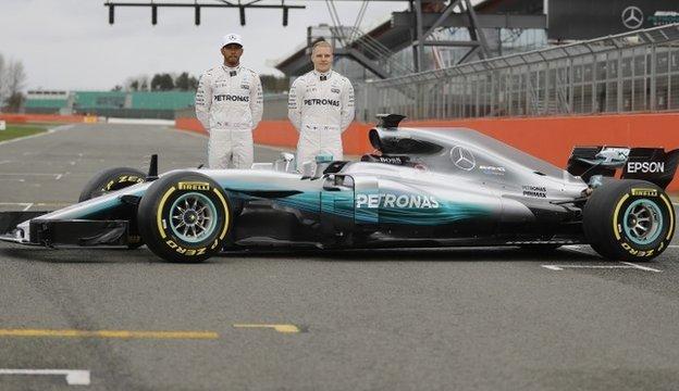 Lewis Hamilton and Valtteri Bottas