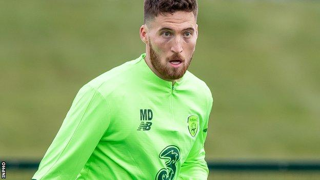 Doherty has won five caps for the Republic after making his debut last year