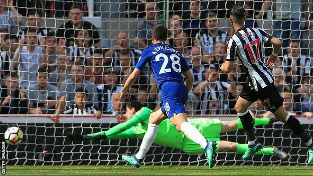 Newcastle United Chelsea BBC Sport