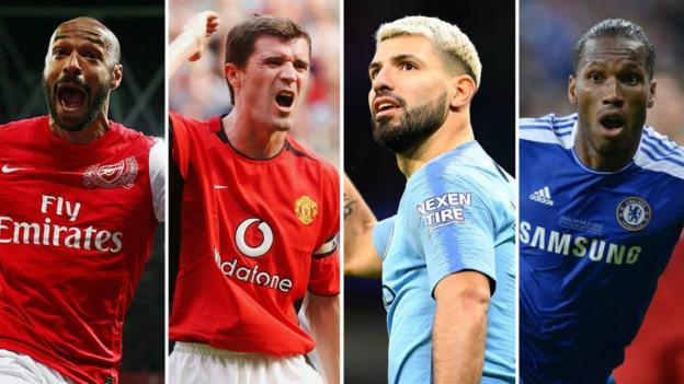 Henry? Keane? Aguero? Drogba? Pick your combined title-winning XI thumbnail