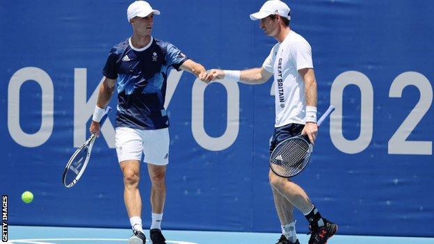 Joe Salisbury y Andy Murray