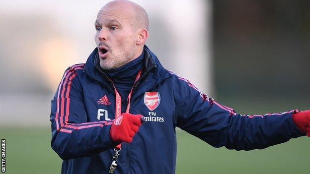 Arsenal interim boss Freddie Ljungberg