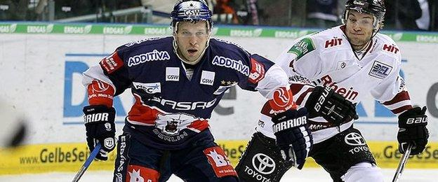 Canadian defenceman Derrick Walser has played in North America and Europe