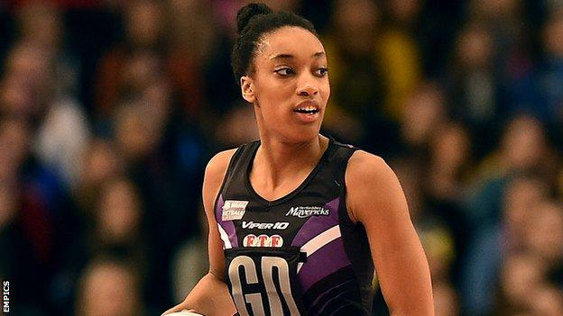 Hertfordshire Mavericks' Layla Guscoth