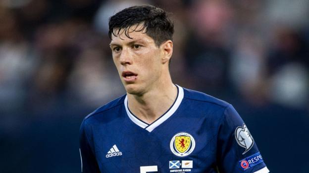 ผลการค้นหารูปภาพสำหรับ Scott McKenna to return to Scotland squad after injury
