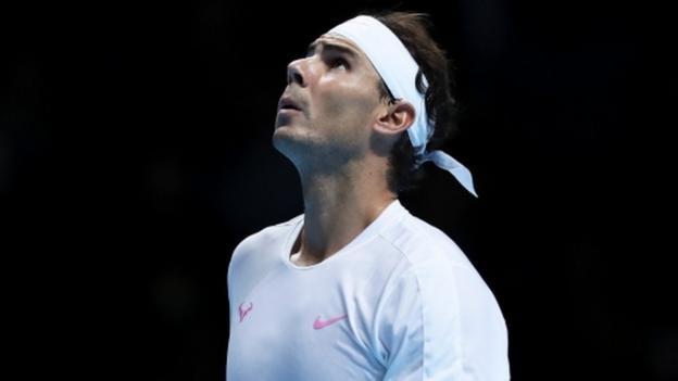 ATP Finals: Rafael Nadal loses to Alexander Zverev in opener