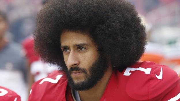 1e099d73663 Colin Kaepernick s name removed from song on Madden NFL 19 game - BBC Sport