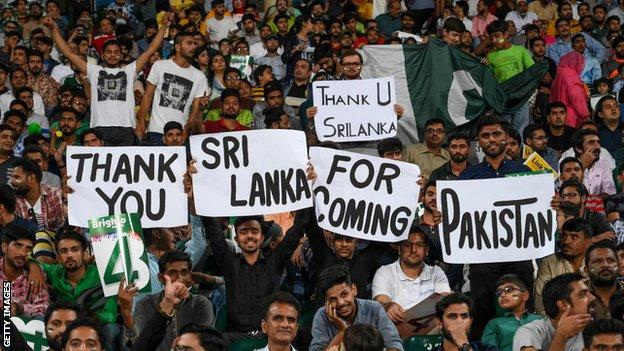 Sri Lanka played in Pakistan earlier this year in limited overs matches
