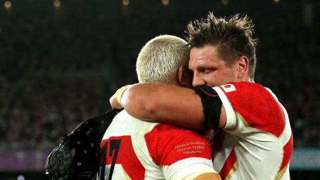 Rugby World Cup: Japan 'not planning to stop' at South Africa quarter-final thumbnail