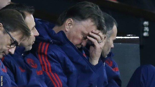 What about Manchester United? Well, doesn't Louis van Gaal's expression say it all? They were held to a draw at Old Trafford by Sheffield United