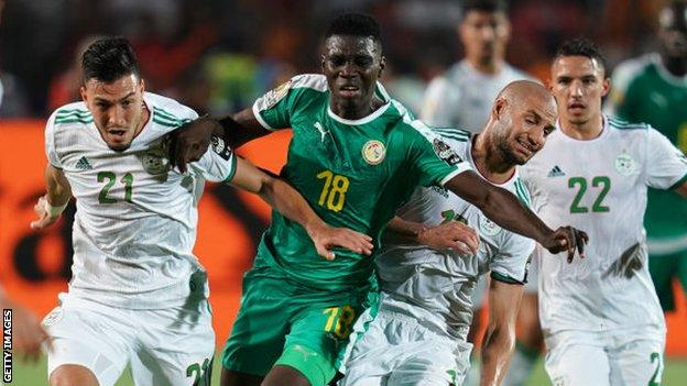 Sarr has played 26 times for Senegal, scoring four goals