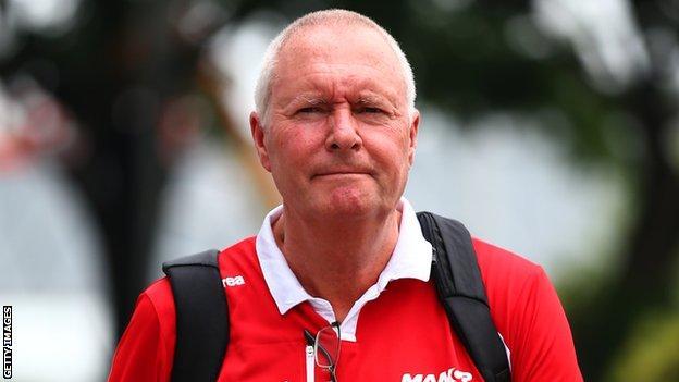Toro Rosso director of racing John Booth