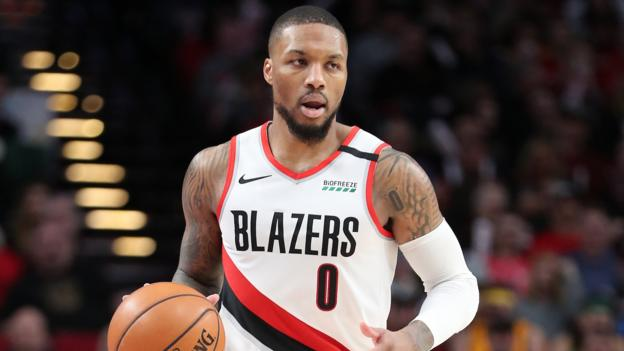 Damian Lillard: Portland Trail Blazers point guard continues scoring streak