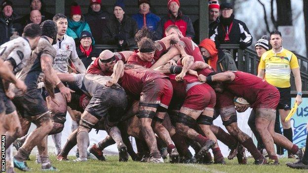 Jersey Reds v London Scottish