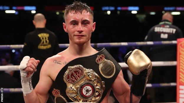 Ryan Burnett has won all 19 of his professional bouts