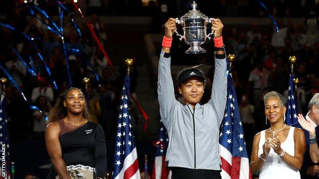 Naomi Osaka describes Serena Williams as her idol