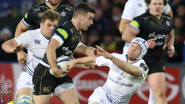 George Ford on the attack for Bath
