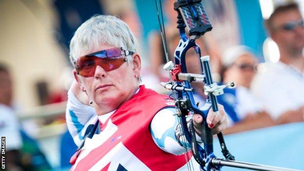 GB Para-archer Jo Frith