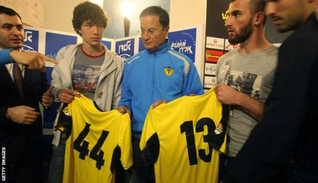 Two Chechen players are signed by Beitar Jerusalem