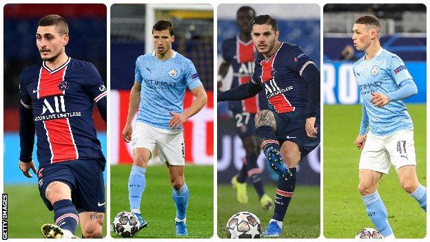 Paris St-Germain v Man City: Who would make your combined XI? thumbnail