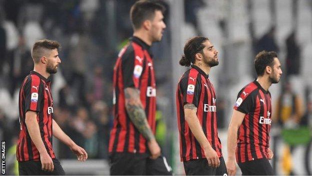 AC Milan were investigated over alleged FFP breaches.