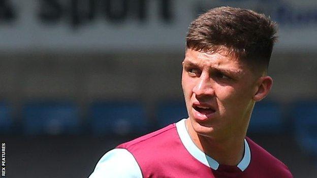 Bobby Thomas has made just one senior appearance for Burnley so far