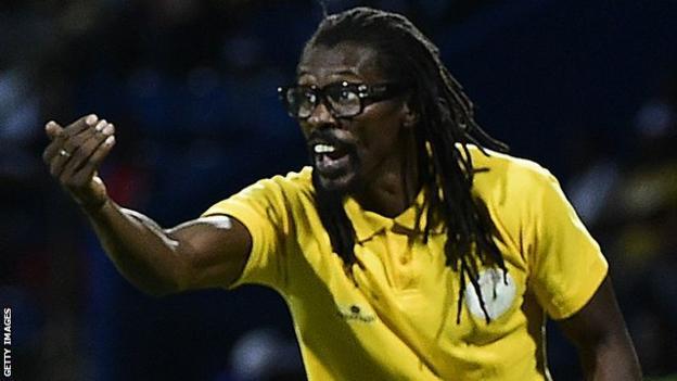 Senegal boss Aliou Cisse